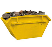 our 2m skip bins are perfect for residential cleanups