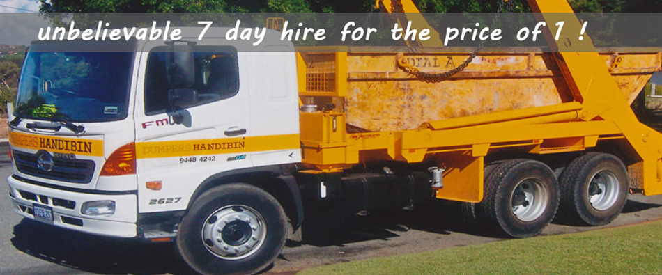 we service all of perth with our skip bin hire
